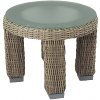 PALISADES END TABLE - ROUND