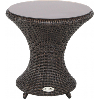 VALLEJO END TABLE - BROWN