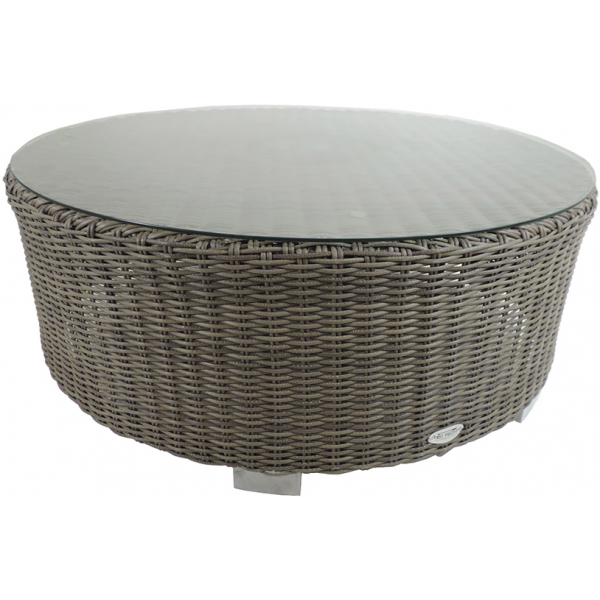 VALLEJO ROUND COFFEE TABLE - GREY