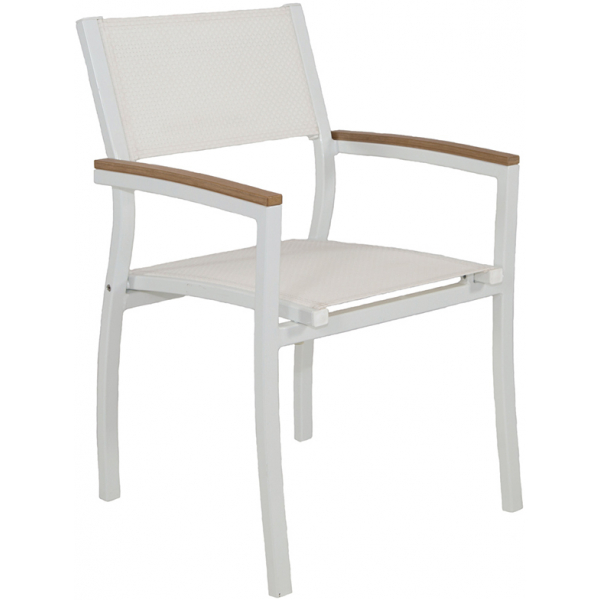 Riviera Dining Chair - White