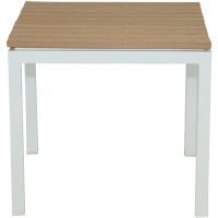 RIVIERA END TABLE - WHITE
