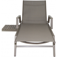 RIVIERA CHAISE LOUNGER - GREY