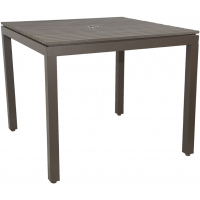 RIVIERA SQUARE DINING TABLE - GREY