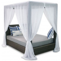 PALISADES QUEEN CANOPY BED
