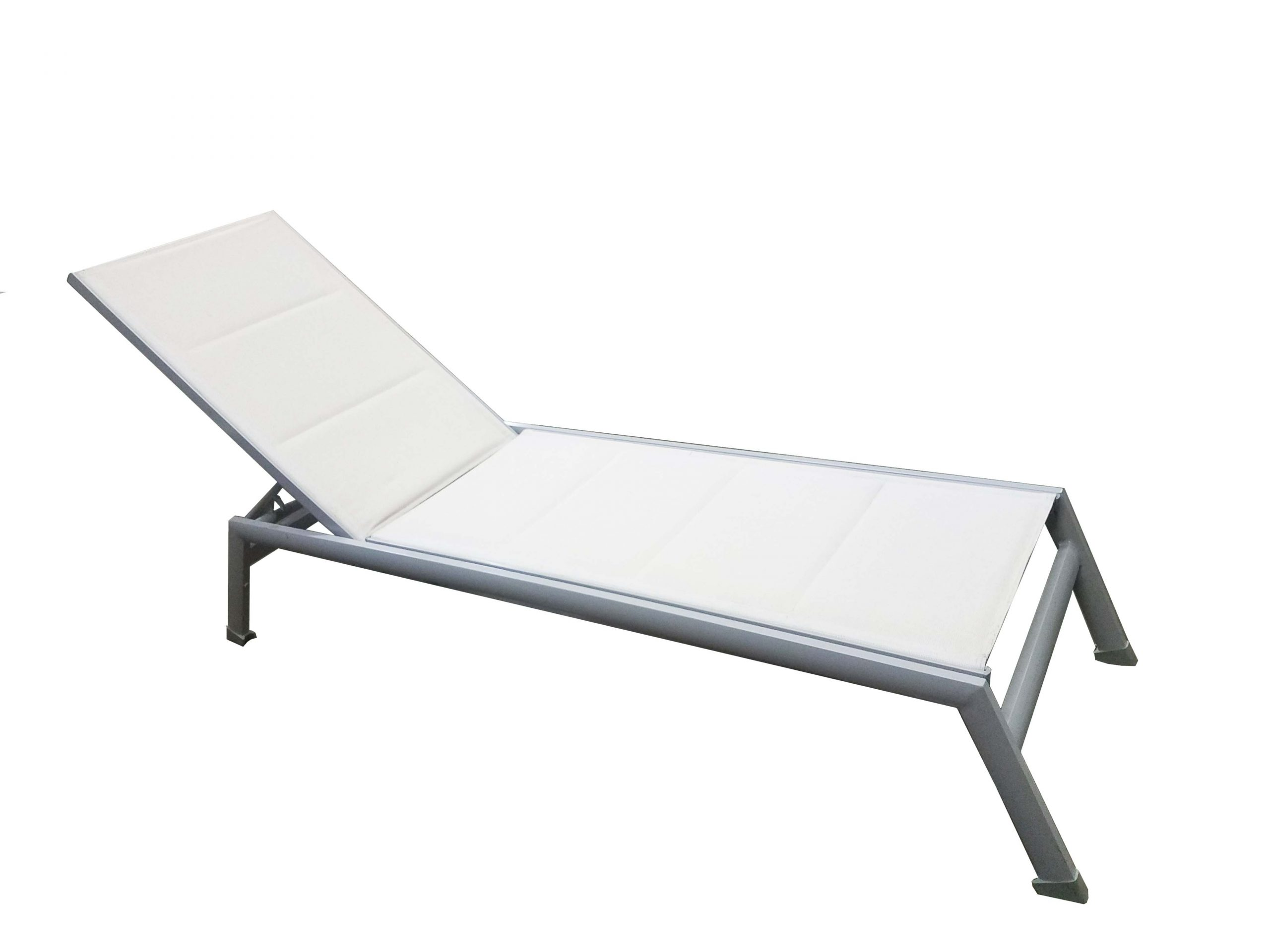 PALM SPRINGS CHAISE LOUNGER - White