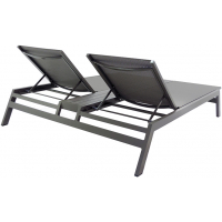 RIVIERA DOUBLE CHAISE - GREY